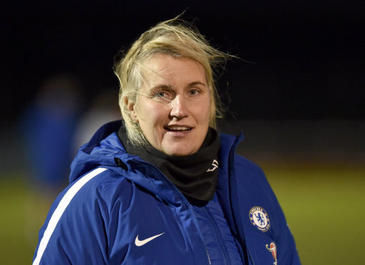 Chelsea Ladies' manager Emma Hayes