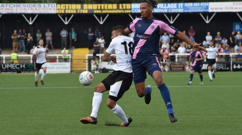 Michael Chambers in action for Dulwich Hamlet recently at Bromley