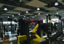 The gym at the new leisure centre
