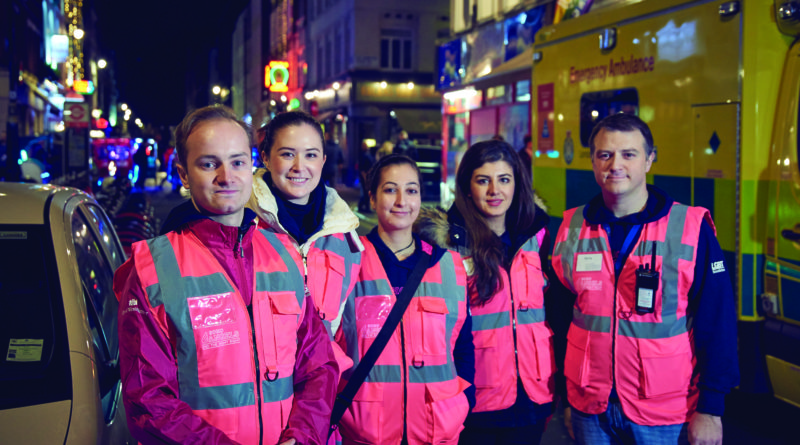 The Soho Angels team of volunteers. Photo: Westminster council