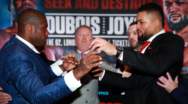 Daniel Dubois' scrap with Joe Joyce pushed back to July 11 at Greenwich's 02 Arena