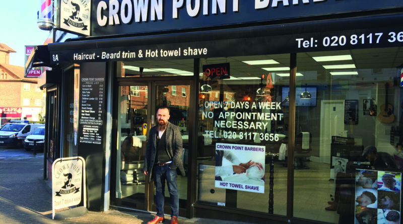 Ako Hama Amin from Crown Point Barbers