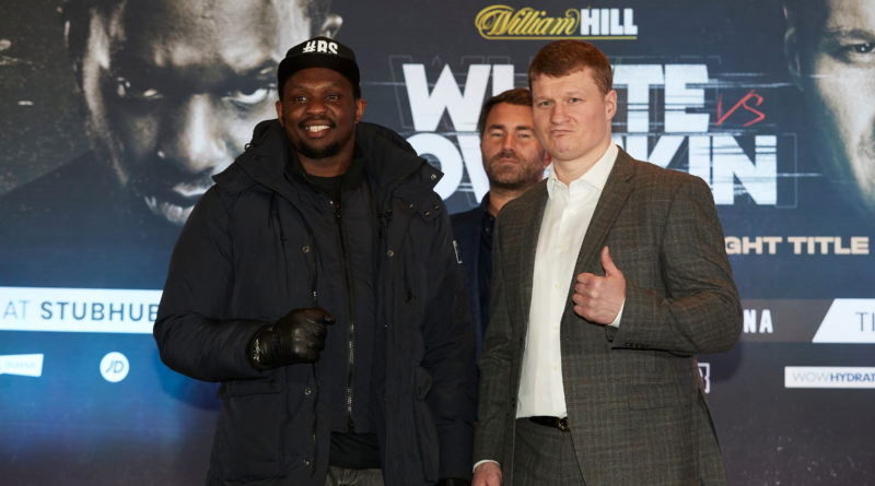 Dillian Whyte's fight with Alexander Povetkin unlikely to stay in May slot admits promoter Eddie Hearn