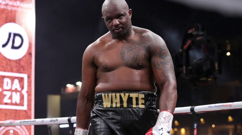BBBofC suspend boxing in May –  Whyte v Povetkin rescheduled for July 4