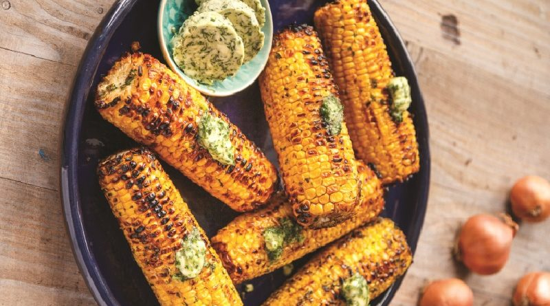 Tasty Treats: Make barbecued corn with shallot herb butter