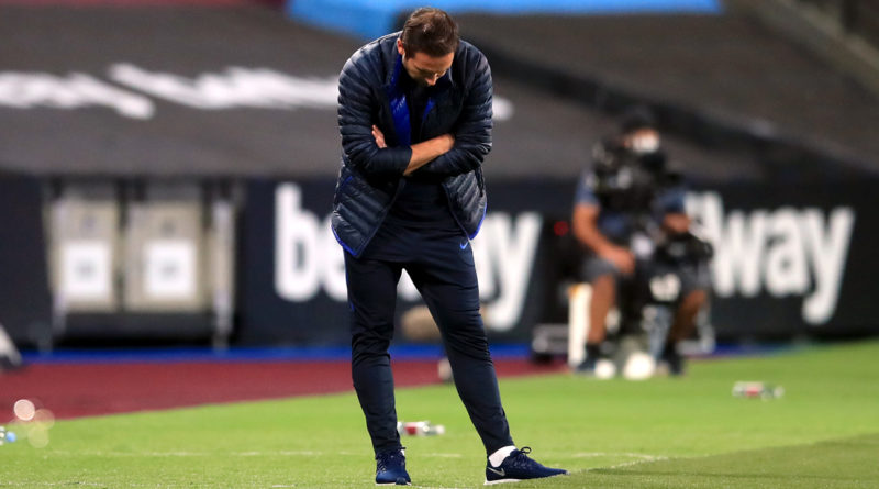 Chelsea manager Lampard: West Ham defeat shows why we're not top two material
