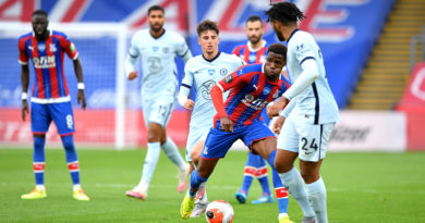 Crystal Palace star Wilfried Zaha: My goal against Chelsea not on a par with Townsend's wonderstrike at Manchester City