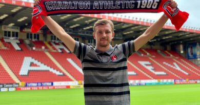 MK Done! Alex Gilbey signs for Charlton Athletic on a three-year contract for undisclosed fee