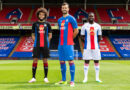 Crystal Palace unveil new 2020-21 kits as chairman Steve Parish reveals supporter came up with design