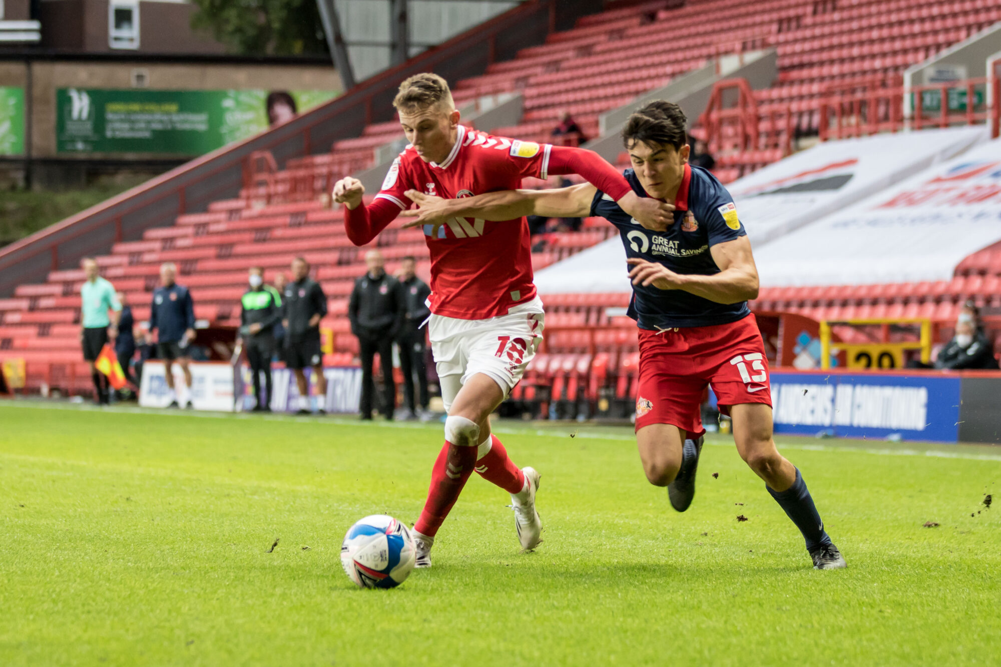 Alfie Doughty will be loaned back to Charlton Athletic – with Stoke, Bournemouth and QPR all agreeing to terms