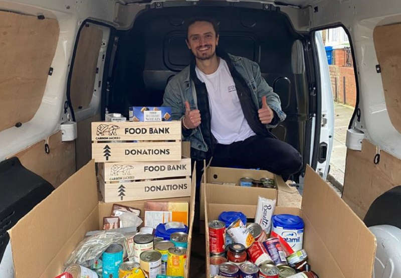 Zero-emission collection service helping food banks to feed people in Southwark