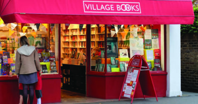Dulwich bookshop shortlisted for national award