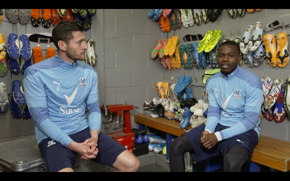 Three Premier League football players star in video calling for tighter regulations on social media