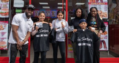 Lewisham rapper gives out free Morley's to local kids at mixtape launch