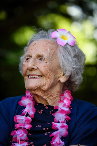 'I still feel 21' says London's oldest woman as she celebrates 108th birthday at Sutton care home