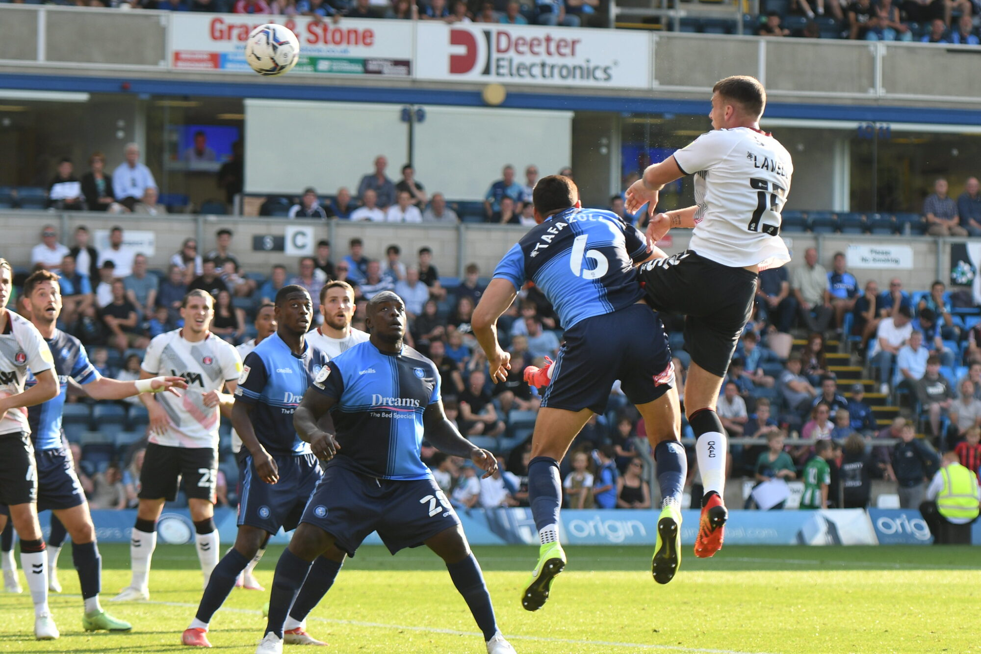 Nigel Adkins: Charlton did not have the quality needed during defeat at Wycombe