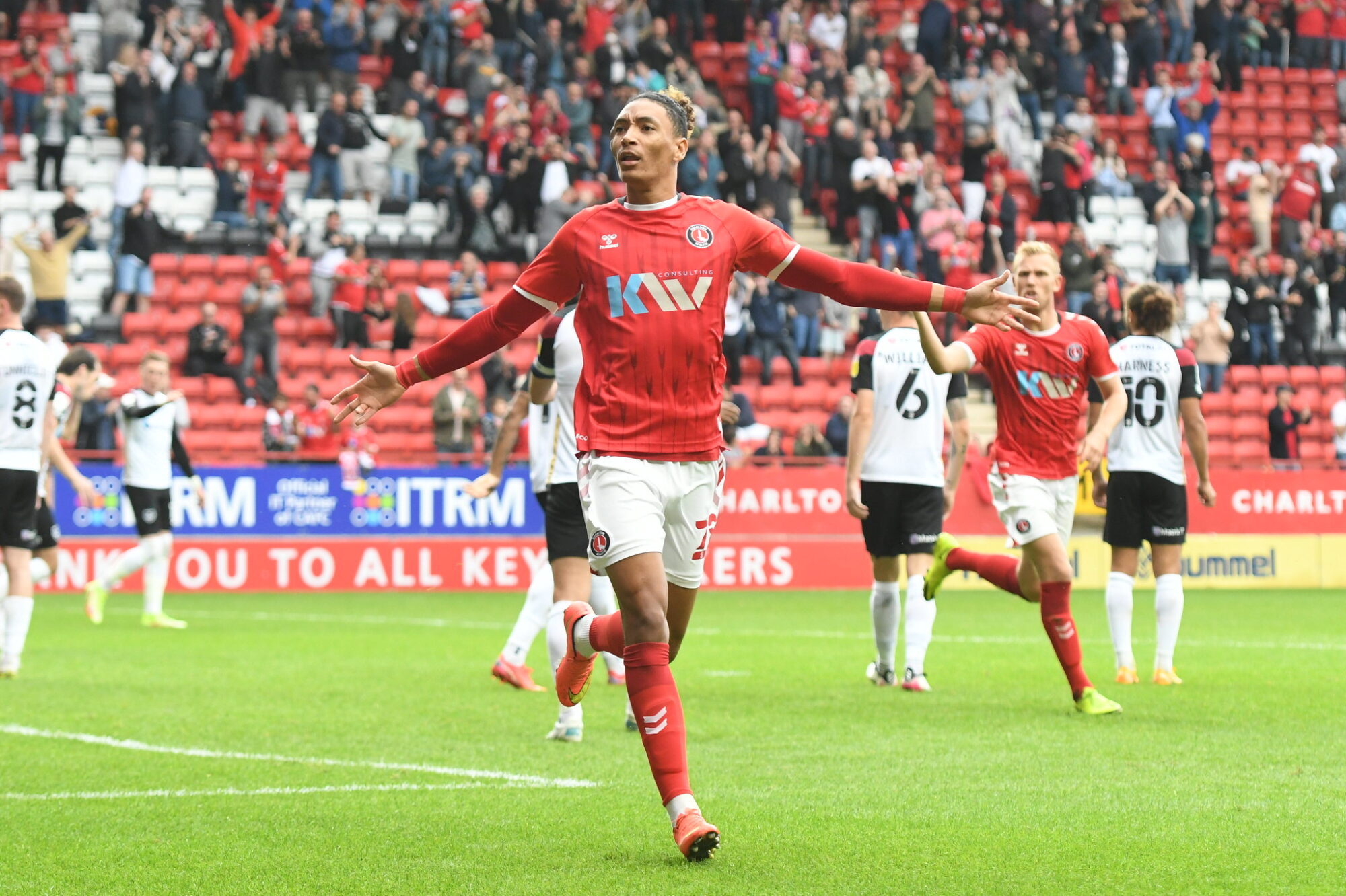 Nigel Adkins explains how change of shape helped Charlton recover from early setback against Portsmouth