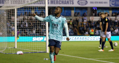 Former Charlton winger Ademola Lookman earns praise after Leicester's 2-0 win over Millwall