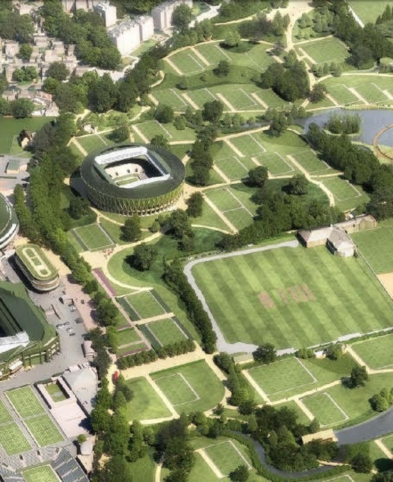 All England club to get massive new show court as part of huge Wimbledon Championship extension plans