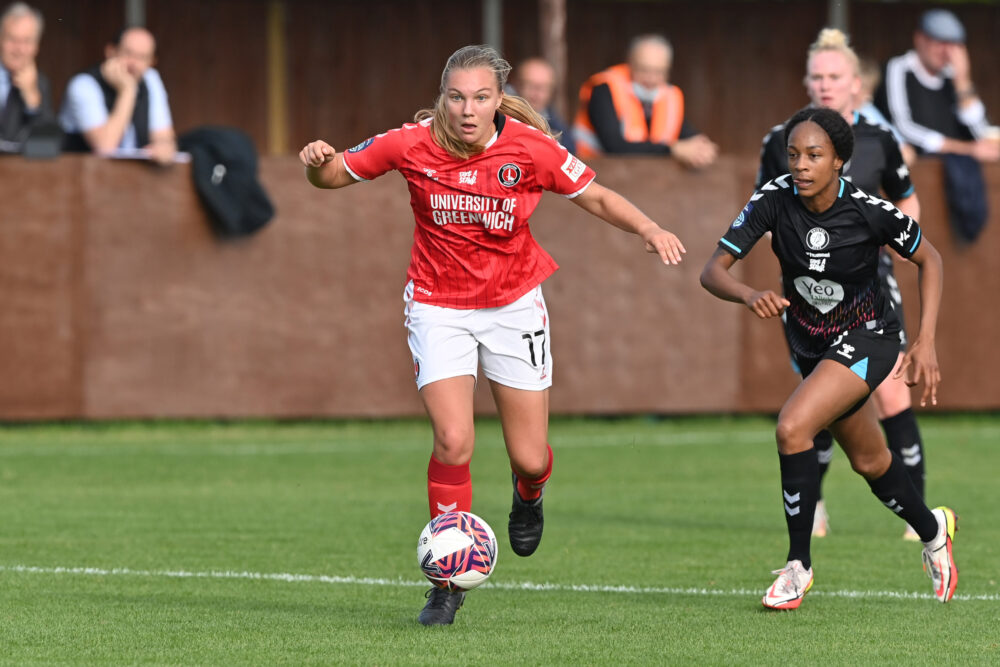 Emma Follis doubles secures Charlton Athletic a home win over Bristol City