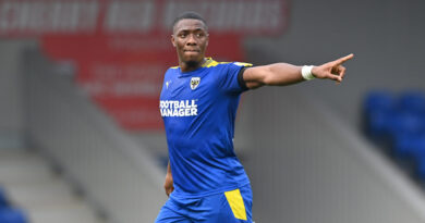 Big injury blow for Dons as young defender ruled out for three months